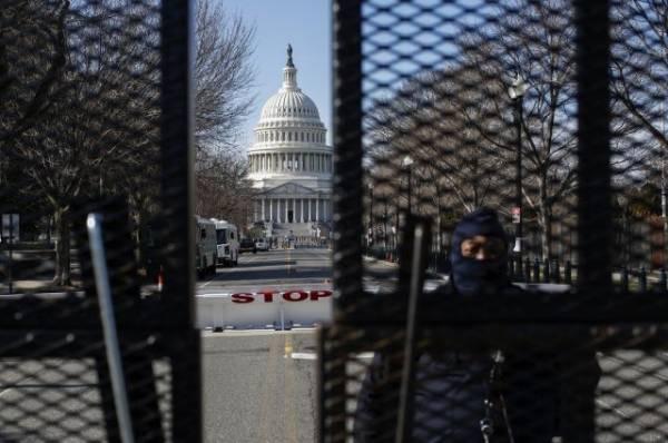 В Вашингтоне вооруженный мужчина пытался попасть в Капитолий