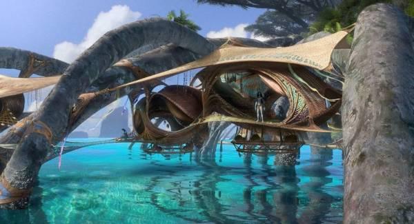 """Домик на воде: Опубликован красивый концепт-арт долгожданного фильма """"Аватар 2"""""""