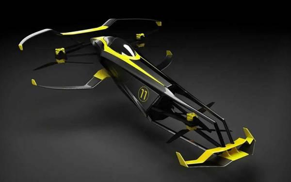 Нас ждут новые гонки — летающий болид CarCopter