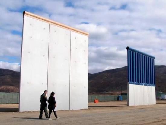 Байден распорядился остановить строительство стены на границе с Мексикой