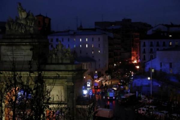 Число пострадавших при взрыве в Мадриде возросло до одиннадцати