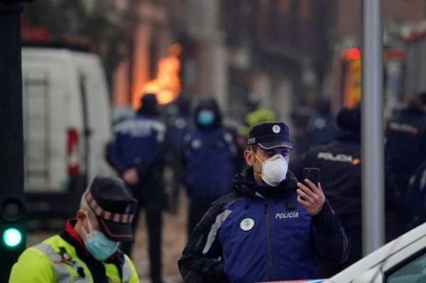 Число жертв взрыва в Мадриде выросло до четырёх