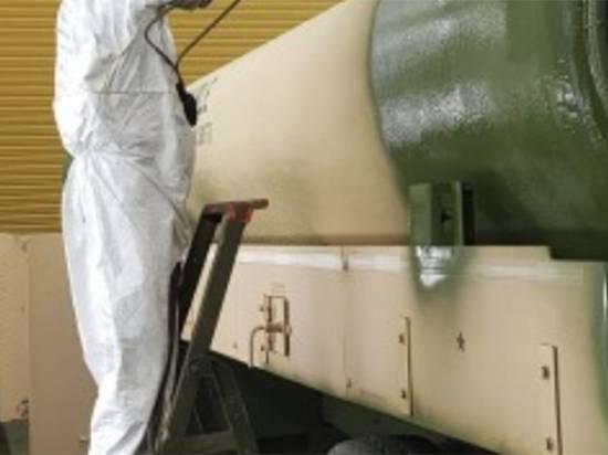 Армия США перекрасила бронетехнику для войны в Европе