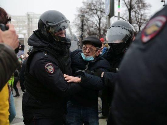 Госдеп США призвал освободить задержанных на митингах в России