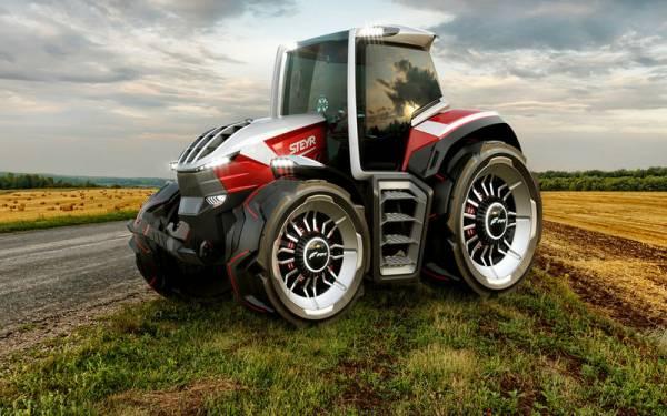 Сколько двигателей нужно трактору? - 4+1!
