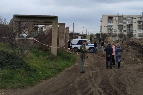 В Крыму подросток погиб из-за обвалившейся в недострое бетонной плиты