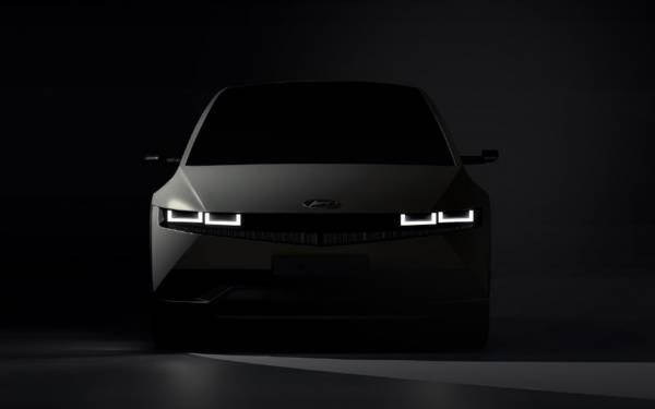 Hyundai Ioniq 5: дебют в феврале (Обновлено)