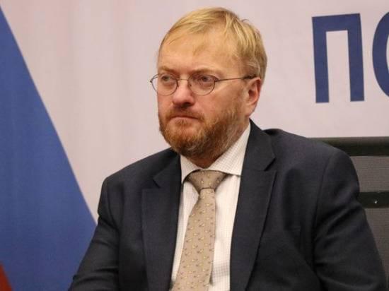 МИД Азербайджана вызвал российского дипломата из-за слов Милонова