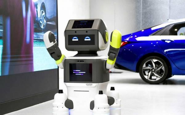 Продавать машины Hyundai будут роботы