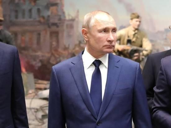 Путин назвал общим долгом противостояние попыткам оправдать нацизм