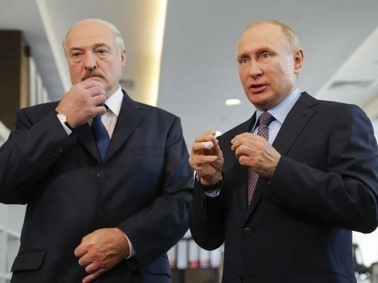 Раскрыты подробности готовящейся встречи Путина и Лукашенко