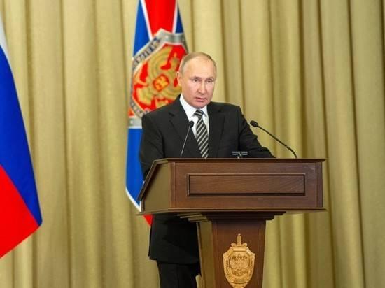 """Путин потребовал защитить выборы в Госдуму от провокаций """"из-за бугра"""""""