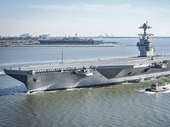 США собираются создать легкие авианосцы с палубными беспилотниками