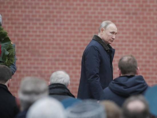 Социологи зафиксировал рост доверия россиян к Путину