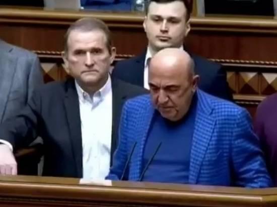 В офисе партии Медведчука прошли обыски и задержания