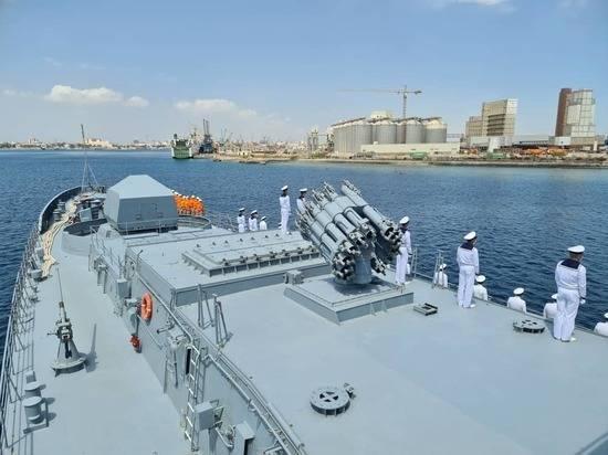Первый российский боевой корабль зашел в Порт-Судан