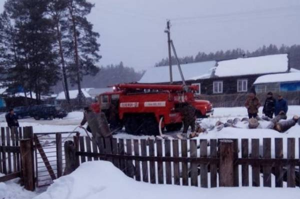 Под Новгородом при пожаре в жилом доме погибли два человека