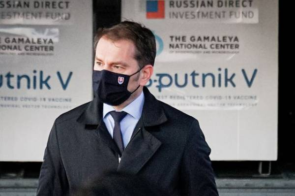 Пол-царства за «Спутник V». Как шутка премьера Словакии взбесила Украину