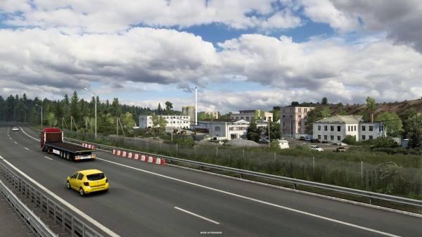 Игроки отправятся в самое сердце России в новом дополнении для Euro Truck Simulator 2