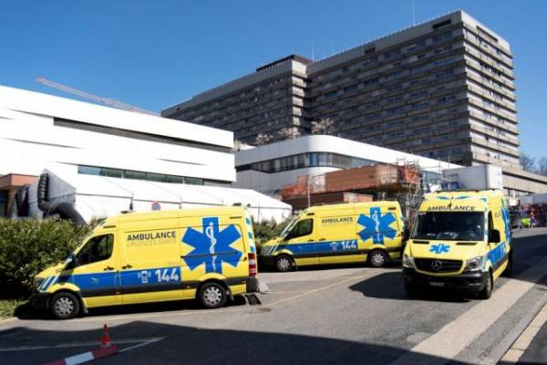 В Цюрихе против участников незаконной акции применили слезоточивый газ