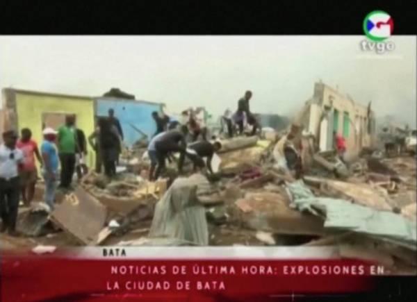 Число погибших при взрывах в Экваториальной Гвинее увеличилось до 30