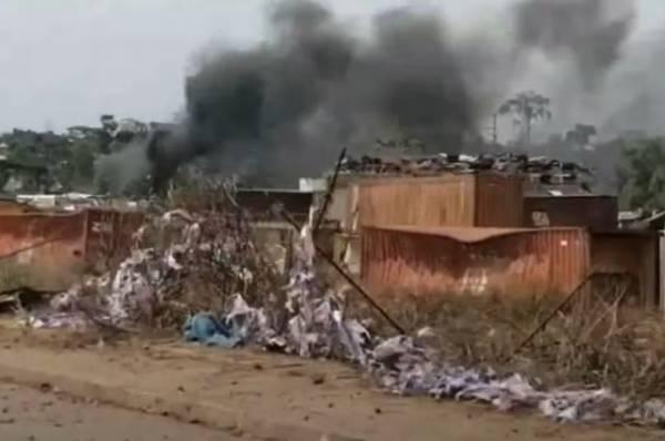 Власти Экваториальной Гвинеи назвали причину взрывов в городе Бата