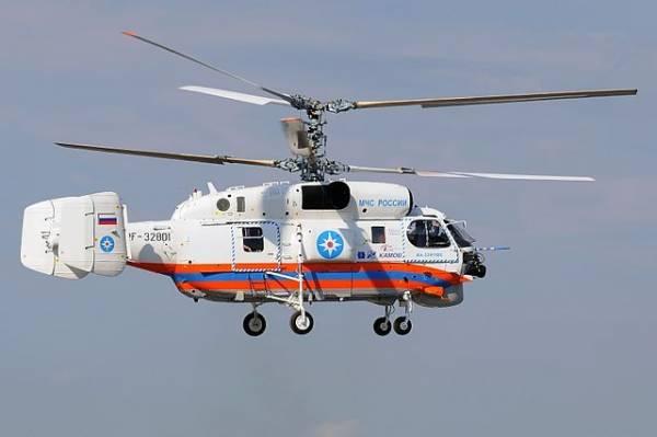 В Калининградской области потерпел крушение вертолет МЧС России