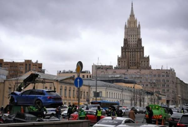 Следователи возбудили уголовное дело после крупного ДТП в центре Москвы