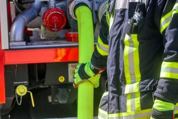 Столичные пожарные ликвидировали возгорание в здании на Зубовском бульваре