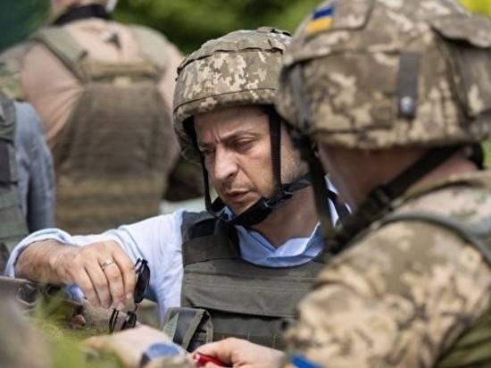 Зеленский заявил о гибели 10 украинских военных в Донбассе