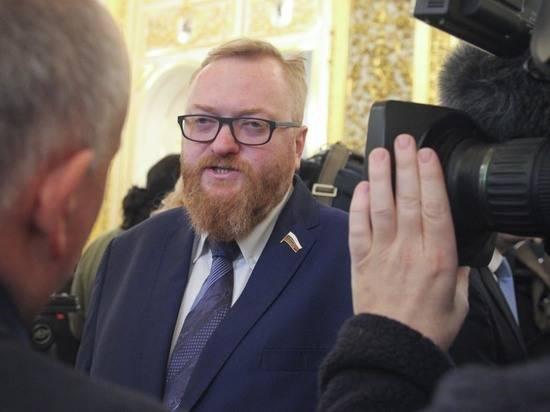 Милонов прокомментировал идею возглавить ЛДПР