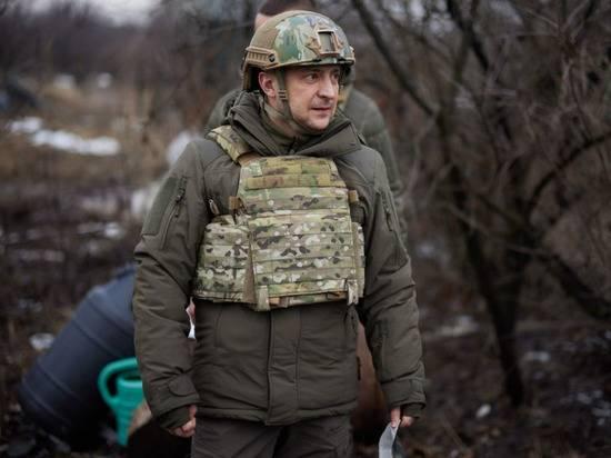 """Прибывшего в Донбасс Зеленского назвали """"неслужившим уклонистом"""""""