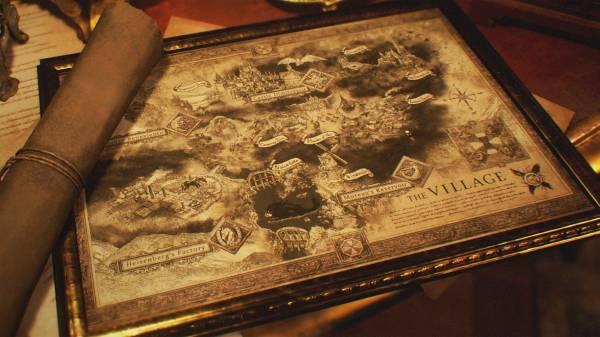Новые изображения Resident Evil: Village раскрыли карту деревни, загадочного персонажа и гигантского водного монстра