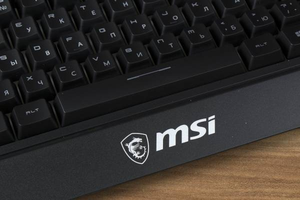 Обзор доступной игровой клавиатуры MSI Vigor GK20