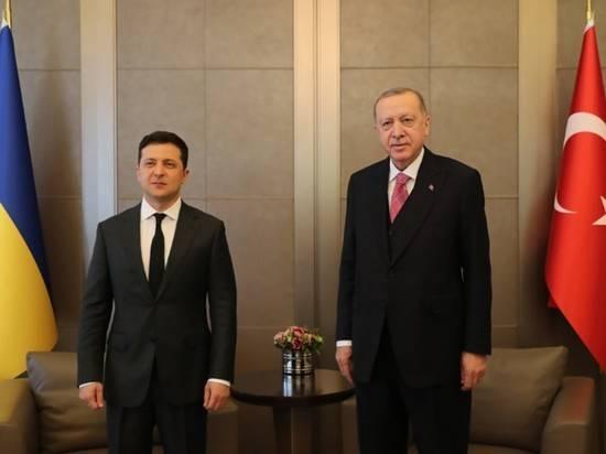 В Стамбуле началась встреча Зеленского и Эрдогана