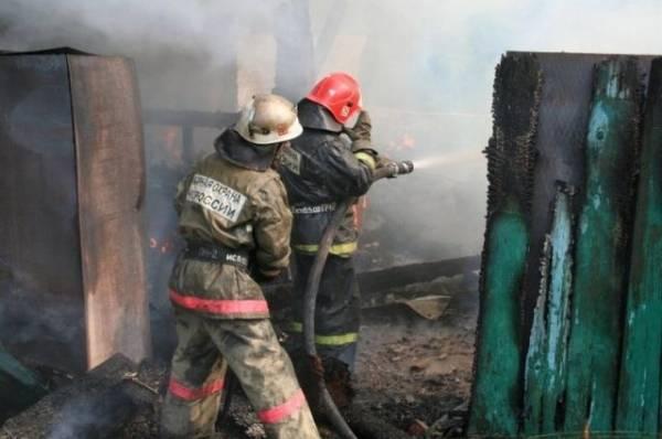 В Свердловской области погиб пожарный