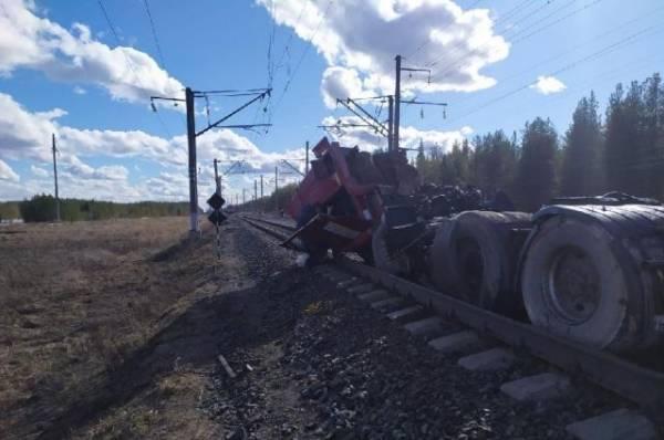 В Архангельской области произошло смертельное ДТП с поездом и грузовиком