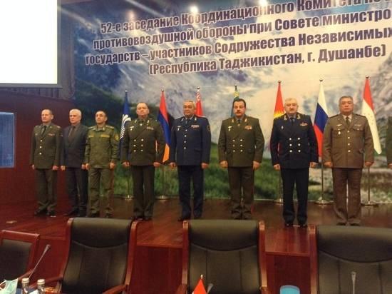В Душанбе военачальники стран СНГ обсудили совместную систему ПВО