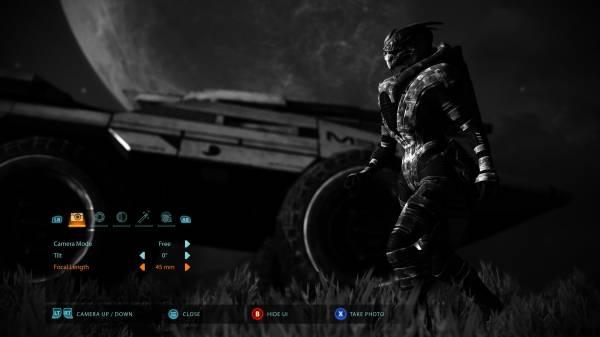 Mass Effect: Legendary Edition получит фоторежим - первые детали и пример возможностей