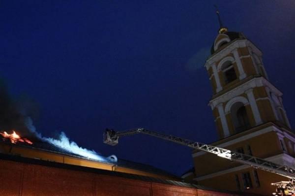 В Петропавловском женском монастыре в Казахстане произошел пожар
