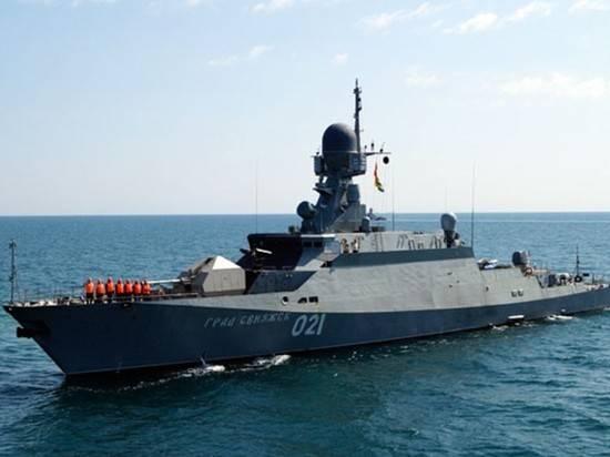Корабли Каспийской флотилии за девять дней совершили переход в Черное море