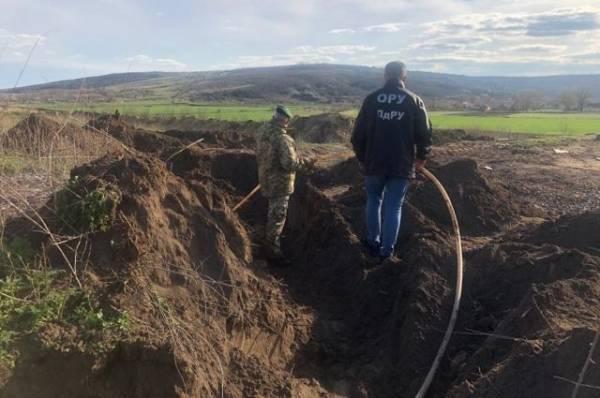 В Одесской области обнаружили трубопровод для перекачки спирта в Молдавию
