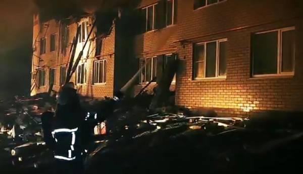 Под завалами дома в Нижегородской области обнаружено тело ребёнка