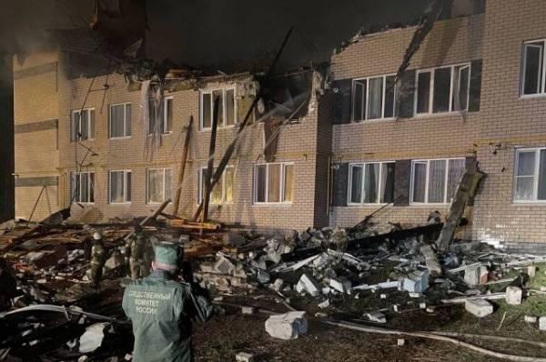 СК завёл дело после взрыва газа в жилом доме под Нижним Новгородом