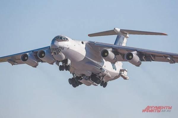 В Жуковском отрабатывают аварийную посадку самолёта Ил-78