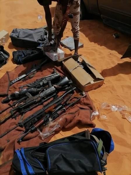 Подразделение ЛНА Халифы Хафтара перехватило партию контрабандного оружия