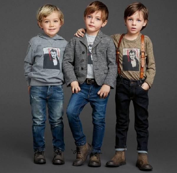 Базовый гардероб мальчика