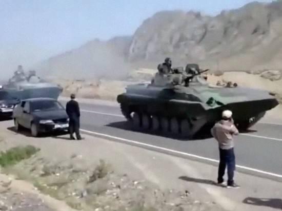 В Таджикистане завели уголовное дело на военных Киргизии