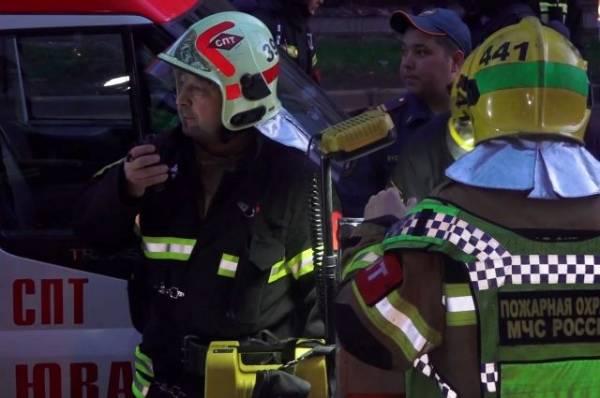 Дети, пострадавшие при пожаре в отеле в Москве, приехали на слёт кадетов