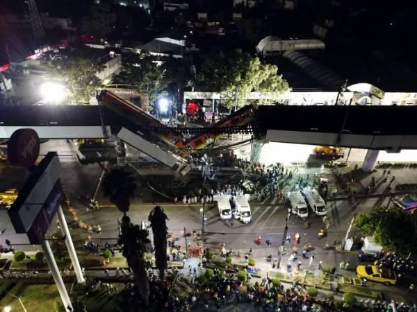 Россиян нет среди пострадавших при обрушении метромоста в Мехико